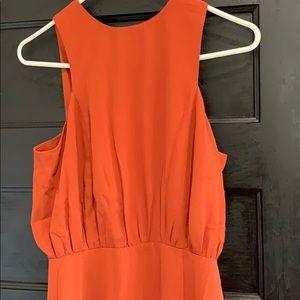 Forever 21 Dresses - burnt orange maxi dress